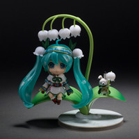 New Arrival Good Smile Nendoroid Series 493 # Vocaloid Idol Hatsune Miku Snow Miku Snow Bell Ver. Cute Action Figure Toys