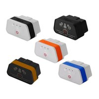 Wholesale Obd2 Vgate - 6 Colors 2016 New Arrival Vgate iCar 2 Bluetooth OBDII ELM327 iCar2 Bluetooth vgate OBD2 diagnostic interface for IOS iPhone iPad Android