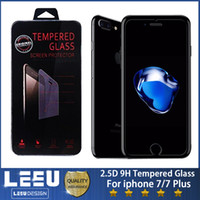 Wholesale Pack Film - 0.3mm Tempered Glass Cell Phone Screen Protectors Film 2.5D 9H with packing for iphone x 7 8 6 plus a8 2018 a3 a5 a7 j3 5 7 2017 euro j530