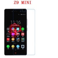 Wholesale Nubia Mini - 9H Tempered Glass For ZTE Nubia Z9 Mini phone film Phone Protective touch screen protector Free shipping