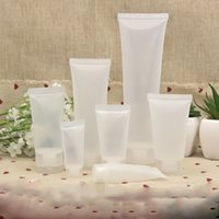 Wholesale Plastic Container For Facial - 5ml 10ml 15ml Cosmetic Soft Tube Container for Facial Cleaner or Hand Lotion Travel Size Sample Bottle
