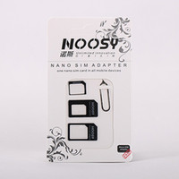 Wholesale Cutter Tray - EUB 4IN1 SIM card adapter for Nano micro standard sim card use for iPhone 4G 5G 6S