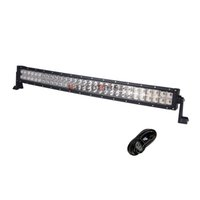 Wholesale Spot Light Wiring Kits - 33 Inch 180W CREE Curved LED Light Bar for Work Driving Boat Car Truck 4x4 SUV ATV Off Road Fog Lamp 12v 24v with Wiring Kit
