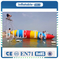 Wholesale tarpaulin bags - Free Shipping 7x3m Fascinating Inflatable Blob Jump With 0.9mm Thickness PVC Tarpaulin, Jumping Pillow, Water Air Bag