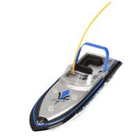 Wholesale Mini Toy Boats - HIINST Best seller drop ship funny Blue Radio RC Remote Control Super Mini Speed Boat Dual Motor Toy june19 p30 Ag14 Gift
