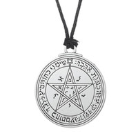 Wholesale Rhinestone Seals - Talisman Venus Solomon Seal Pendant wiccan pentacle love necklace
