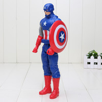"Wholesale First Role - 12"" 30CM Super Hero Captain America The First Avenger Superhero PVC Action Figure Toy Free shipping"