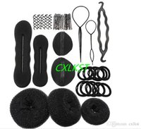 Wholesale Hair Style Setting Tools In Set Bun Styling Maker Hairpins Clip Package For Woman Girl