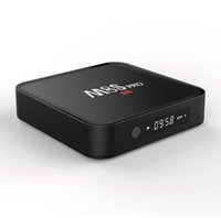 spielen tv box hdmi großhandel-Amlogic S905X MXQ PLUS M8S PRO Android TV-Box mit LED-Anzeige Android 6.0 1 GB 8 GB Google Play Internet
