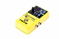 Wholesale Recording Drums - NUX Loop Core Violao Guitar Electric Effect Pedal 6 Hours Recording Time Built-in Drum Patterns Musical Instrument Parts Free Shipping