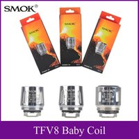 Wholesale Wholesale Engine Sales - Hot sale SMOK TFV8 Baby Coil Head Replacment T8 X4 T6 Q2 Beast Coil Engine Core for Sub Ohm Tank TFV8 Baby tank