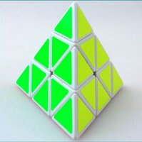 Wholesale Triangle Puzzle Cubes - Shengshou Triangle Pyramid Pyraminx Magic Cube Puzzle Speed Cubes Educational Toys for Children Kids