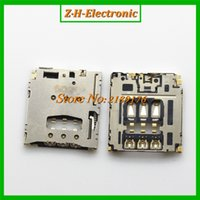 Wholesale-2pcs / Lot Brand New Per Holder Blackberry Q5 R10 SIM Card Reader vassoio Socket Slot di trasporto