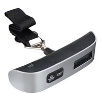 Wholesale Digital Suitcase Weigh Scale - 50kg Digital Luggage Scale Electronic Portable Weighing Weight Suitcase Travel