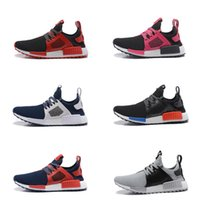 Wholesale Women Trainning Shoes - Wholesale NMD7 Boost Trainning Shoes Outdoors Casual Man And Women Shoes Kanye West Shoes Black Size36-46 10 Colors Shipped With Box