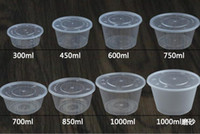 Wholesale Wholesale Disposable Soup Bowl - Disposable Bowl PP Food Packaging boxe Food take out Boxes Soup bowl Roundness Bowl home use 300ML-1000ML