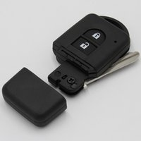 Wholesale Gt Smart - New hot sell car key case for Nissan 2 button smart remote key shell FOB key blank cover free shipping