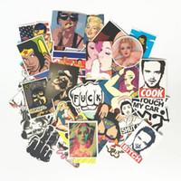 kötü kızlar toptan satış-Kirli Styling Bad Joke Cinsel Kız Sticker Bomba Su Geçirmez Graffiti Doodle Kaykay Çıkartması Araba Sticker