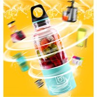 Wholesale Automatic Juicers - Blender Juicer 500ml Gift Box Portable Bingo Mixer Bottle Cup Automatic Mini Fruit Juicer Blender Protein Coffee Shaker Juice