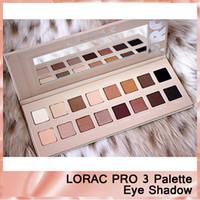 Wholesale lorac unzipped palette resale online - High quality Makeup LORAC PRO Palette Eye Shadow Palette UNZIPPED Palettes New Color Advanced Night Repaire