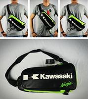 Wholesale Tank Bags Backpack - Free Shipping Motorcycle Backpack Shoulder bag Chest bags off-road Multifunctional Sport bag For Kawasaki Komine Bag