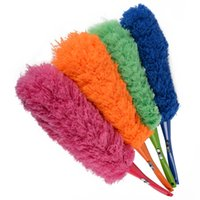 Wholesale Magic Squares Cleaning - Magic Soft Microfiber Cleaning Duster Dust Cleaner Handle Feather Static Anti