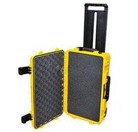 Wholesale plastic tool trolley - Shock proof box 2620 trolley waterproof tool case Instrument box dust-proof box Photographic camera case 570*418*285mm