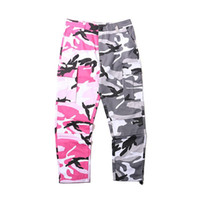 Wholesale Rubber Pants For Men - 2017 And the wind high street camouflage loose pants rubber pants color color color all-match casual pants trendsetter for men and women