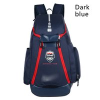 Wholesale Girls Backpack Waterproof - Basketball Backpacks New Olympic USA Team Packs Backpack Man's Bags Large Capacity Waterproof Training Travel Bags Shoes Bags Free Shipping.