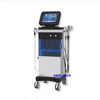 Wholesale Led Hydro - 7 in 1 USA Popular Skin Spa System oxygen water machine SPA16 Hydra facial oxygen spray gun hydro dermabrasion led light therapy machine