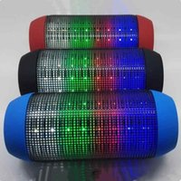 Wholesale Pulsating Led - AAA quality Bluetooth Speakers Y35 Speakers Luminous Pulsating Music Wireless Speakers LED Bluetooth Stereo speaker with retail package