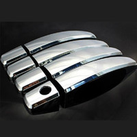 Volkswagen / Vw Tiguan Car Door Handle Cover Trim ABS Chrome Esterno Maniglia copertura per il 2010-2014 2014 Accessori auto Tiguan