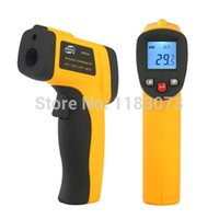 Wholesale Digital Infrared Body Thermometer - Non-Contact Laser Infrared Digital IR Thermometer Body Surface -50~380 Degrees GM300 Big Discount Temperature Instruments DropShipping