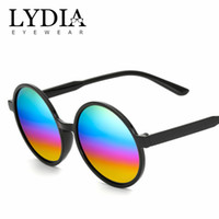 fashion sunglasses Canada - 2018 Hot Selling Fashion New Brand Vintage Round Sunglass Retro Black Sunglasses For Women And Men Accept Drop-shipping L15938