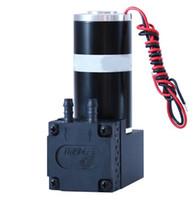 piston electrico al por mayor-12V alta presión exquisita EPDM Diafragma Micro Bomba de vacío Bomba de pistón pequeña Bomba colectora de succión de aire Mini bomba eléctrica