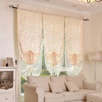 Bedroom blinds sheer - New Arrival Roman Blinds Short Curtain Curtains For Kitchen Coffee Tulle Yarn Sheer Curtains Curtains For Skylight