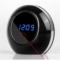 Wholesale Min Videos - Motion HD Min Video Camera Hidden Security Camera Clock Video Recorder with Motion Detection 90° Wide View Angle with Remote Control Spy Cam