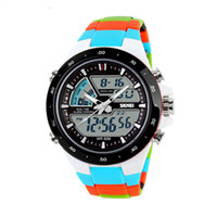 Wholesale Skmei Digital Watches - Skmei Brand Men sports watches Relojes LED Digital Watch Relogio Masculino Fashion Casual Quartz Army military men Wristwatch