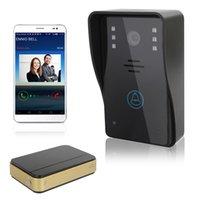 Wholesale Doorbell Rings - WiFi Wireless Video Doorphone Smart Doorbell Home Improvement Visual Door Ring With intercom function,voice loudly