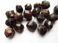 ore products - 100g Natural Crystal Red Garnet ore energy rough Chakra Energy Stone Fengshui Products