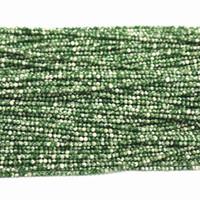 "Wholesale 2mm Jasper Beads - Natural green point jasper 2mm 3mm round beads fashion diy jewelry loose Beads 15"" B389"
