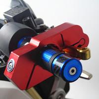 руль джемаха оптовых-Мотоцикл руль замок скутер ATV тормоза сцепления безопасности кражи защиты замки для Honda Kawasaki Yamaha Piaggio KTM