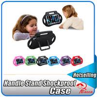 schutzschaumabdeckung stoßfestes gehäuse großhandel-Schutz Griff Ständer Stoßfest Kids EVA Safe Foam Hülle für iPad Mini 1 2 3 bacca