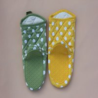 Wholesale Mitten Holders - Silicone Oven Mittens Heat Resistant Silicone Glove Cooking Baking BBQ Oven Pot Holder Kitchen Mitts with free shipping