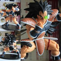Wholesale Raditz Action Figure - Anime Dragon Ball Super saiyan Raditz PVC Action Figure Collectible Model doll toy 12cm free shipping in stock