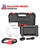 Wholesale ford airbag reset tool - Newest 7 inch Autel MaxiCOM MK808 Automotive Diagnostic Scanner with IMMO EPB SAS BMS TPMS DPF Service Replace of EU908