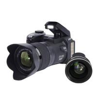 цифровые камеры dslr оптовых-D7100 33MP FHD DSLR полупрофессиональные цифровые камеры 24x широкоугольный телеобъектив устанавливает 8-кратный цифровой зум камеры фокус