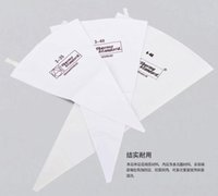 Wholesale Icing Pastry - New Pastry bags! 40 cm Re-usable cotton cloth cake decorating bag, cookie icing piping bag baking tools dhl free shipping