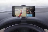 Wholesale Grip Auto - Car Phone Holder Simulating Design Vehicle Auto Phone Holder Cradle Adjustable Dashboard Phone Mount Grip Safe Driving For iPhone 6 7 7 Plus