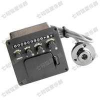 Wholesale 4 Band EQ Guitar Equalizer Piezo Pickup Pre Amp Acoustic Guitar Preamp Amplifier Tuner Professional Accessories Guitar parts
